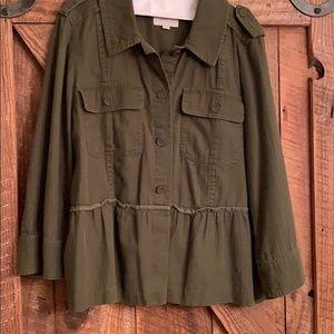 Loft army style jacket